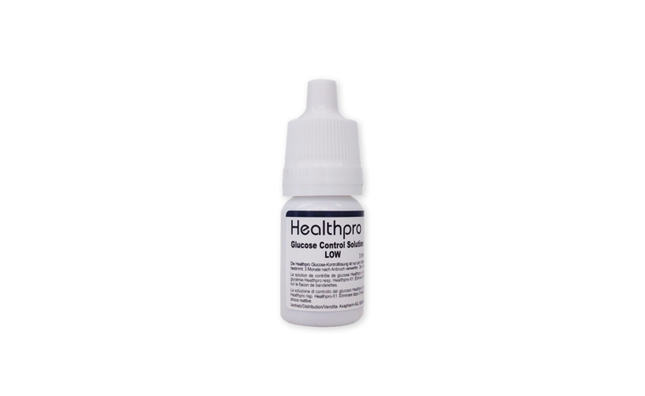 Healthpro Kontrolllösung low, 3.5 ml