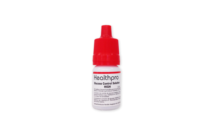 Healthpro Kontrolllösung high, 3.5 ml
